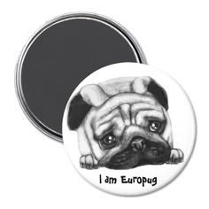 Europug The Sad Face Magnet