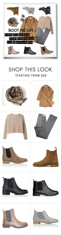 """Chelsea Boots"" by apple-named-doris ❤ liked on Polyvore featuring ssongbyssong, Comptoir Des Cotonniers, Barneys New York, Bottega Veneta, Brunello Cucinelli and chelseaboots"