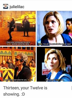 I love how Jodie has been great at showing each of her (the Doctor's past lives! - I love how Jodie has been great at showing each of her (the Doctor's past lives! Doctor Who Meme, Doctor Who Quotes, 13th Doctor, Eleventh Doctor, Diy Doctor, Space Man, Saga, David Tennant Doctor Who, Rory Williams