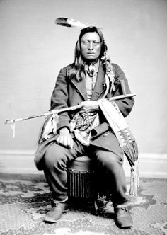 Sacred Ghost, Oohenumpa Sioux. Photo taken 1867.