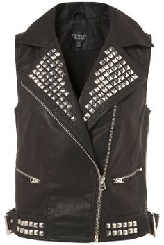Studded leather vest. Leather is back in fashion again for this fall'12. Leather is a durable and flexible material created by the tanning of animal rawhide and skin, often cattle hide. In other countries, many people wear leather to keep themselves warm because it can protect us from the cold. Leather is a very expensive material because of the process. The process of making leather is tedious and time consuming.