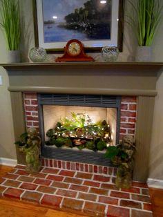 Unused Fireplace Idea+DeFuniak Springs, Florida