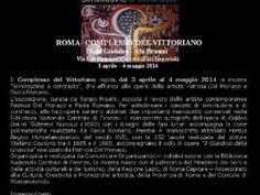 Patricia Del Monaco e Paola Romano. Similitudine e contrasto, Complesso del Vittoriano, Roma
