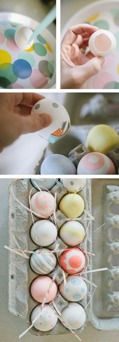 How to make a dozen easter countdown eggs Easter Advent