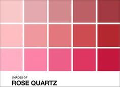 Paleta de cores para o casamento: tons de Rosa Quartz
