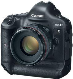 The Canon EOS-1D X Digital SLR Camera - simple amazing!