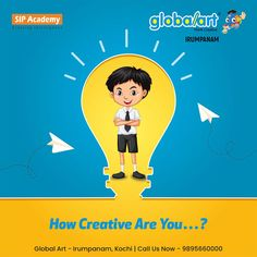 How Creative Are You…? Take this opportunity and find it out with Globalart Join Globalart Irumpanam now. Limited Seats Only. Call us for more details: 98956 60000 Kochi, Global Art, Imagination, Opportunity, Creativity, Join, Drawings, Movie Posters, Fantasy
