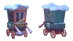 ArtStation - Hogsmid Cart, Josh Godwin