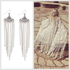 It's all about the Fringe this spring!! And we're on board. Try Heather Gardner Dakota Sunrise Earrings