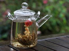 If you're looking for a way to take your teatime experience to some next-level cinematic trippiness the world of blossoming teas may be just what you're looking for to spice things up in the tearoom.