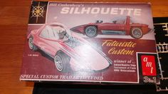 Vintage-AMT-Silhouette-2162-200-Bill-Cushenbery-model-3-in-1-car-kit