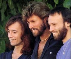 The Bee Gee's...Robin, Barry, Maurice Gibb...I could listen to them sing all day long.