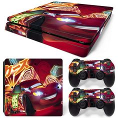 Red Motiv Reputation First Faceplates, Decals & Stickers Sony Ps4 Playstation 4 Skin Design Aufkleber Schutzfolie Set