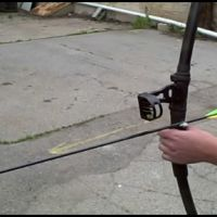 Axe Bros. - PVC bow with 60 lb draw weight for under $15