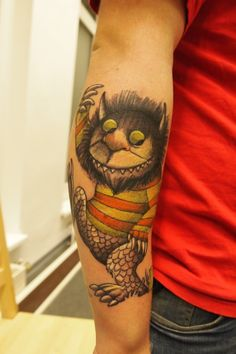 If I were to get a tattoo, it would probably end up being something like this. Only smaller. And not on my forearm.