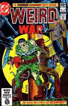 https://flic.kr/p/9mCqjB | Weird War Tales #102 | Weird War Tales #102, Aug. 1981. DC  Comics.