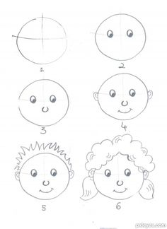 Basic drawing steps basic steps of drawing step 2 draw the eyes step 3 nose step . Drawing Videos For Kids, Drawing Tutorials For Beginners, Easy Drawings For Kids, Drawing Lessons, Drawing Tricks, Girl Drawing Easy, Basic Drawing, Learn Drawing, Drawing Step