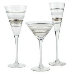 All my tasty holiday drinks would look fabulous in these!