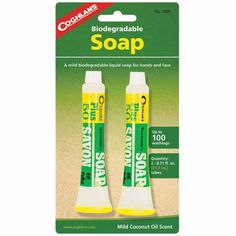Coghlans Sportsmans Soap >>> Details can be found by clicking on the image.