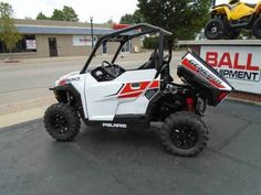 New 2017 Polaris Polaris GENERAL 1000 EPS White Ligh ATVs For Sale in Michigan. 2017 POLARIS Polaris GENERAL 1000 EPS White Ligh, Just in from the factory is a brand new 2017 Polaris General!!!! This SxS is in the White Lightning color design and it features: a in class best 100 HP 4 stroke twin cylinder engine, electronic power steering (EPS), engine braking system (EBS), dual a-arm front suspension with 12.25' of travel, dual a-arm IRS with 13.2' of travel, 27 x 9-14 Maxxis Coronado front…