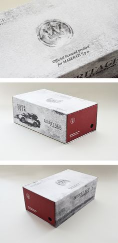 Scatola da scarpe Maserati, un progetto #effADV - Maserati shoe box, effADV project - #packaging #shoes #box