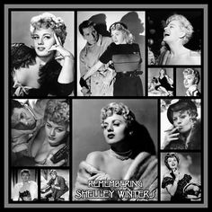 Shelley Winters Created by Diane Yoder 2019 Shelley Winters, Actors & Actresses, Hollywood Actresses, Mona Lisa, Classic Hollywood, Artwork, Design, Work Of Art, Auguste Rodin Artwork