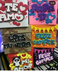 Todos los buenos deseos, los buenos recuerdos, una cantidad incontable de abrazos y besos los puedes enviar en una caja, expresándole todo el cariño a esa persona importante en tu vida….. Diy Crafts For Gifts, Crafts To Do, Diy Craft Projects, Paper Crafts, Weird Gifts, Diy Gift Box, Birthday Box, Topper, Bff Gifts