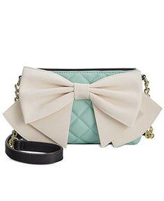 Betsey Johnson Bow Crossbody - All Handbags - Handbags & Accessories - Macy's