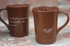 Custom coffee cup wedding favors! 1628/ET. As low as $2.79 each. #wedding #coffee #cup #partyfavors
