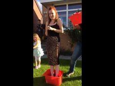 The Ice Bucket Challenge - In Heels and Makeup!!!