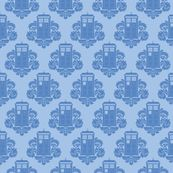 Tardis Fabric!!!  It's not cheap, but might be worth it to buy for a special project!