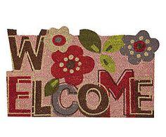 Zerbino in cocco Fiori multicolor - 45x45x2 cm Kids Rugs, Fantasy, Home Decor, Objects, Decoration Home, Kid Friendly Rugs, Room Decor, Fantasy Books, Fantasia