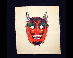 Patch   Back Patch  Devil  Halloween  Halloween by MuffyBrandt