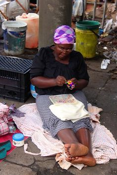 #ZuluBeadz #handcrafted #DurbanBeadMarket #ZuluHat #DurbanStreetMarket #ZuluWoman