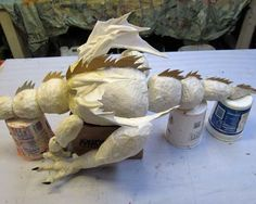 Not So Secret Paper Mache Project- more dragon marionette assembly Paper Mache Projects, Paper Mache Crafts, Egg Crafts, Art Projects, Marionette Puppet, Puppets, Emu Egg, Paper Mache Sculpture, Sculptures