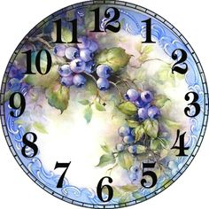 Diy Diamond pattern Painting cross stitch grapes square Full diamond embroidery Floral diamond Mosaic home Decoration Clock Craft, Diy Clock, Country Paintings, Decoupage Paper, Cross Paintings, Wall Patterns, Crafts To Sell, Sewing Crafts, Paper Crafts
