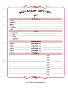 Printables Wedding Planning Worksheets mariage wedding planning and on pinterest worksheets