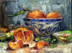 Art Talk - Julie Ford Oliver: Tangerine Time