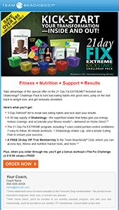 Autumn Calabrese's brand new 21 Day Fix Extreme workout program combines easy-to-follow portion control with advanced 30-minute workout programs.