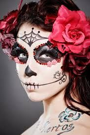 Image result for candy skull makeup