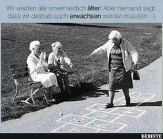 Wir werden alle unvermeidlich älter! Wir werden alle unvermeidlich älter!