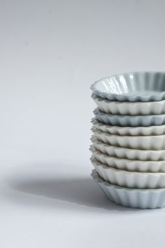 Litle ceramic plate form like for cokies.  Designed by Anna Pawlewska