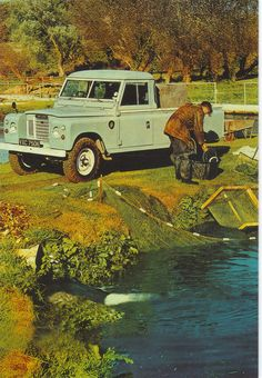 A lovely Land Rover Series 3