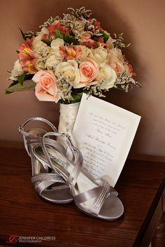 Jennifer Childress Photography | William Penn Inn | Wedding | Gwynedd, PA | Montgomery County | Wedding Details | Bouquet | Wedding Shoes www.jennchildress.com