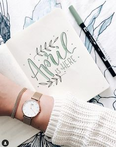 Are you looking for the best bullet journal ideas for April? You're in the right place. Here are the latest and best bullet journal covers for April. Bullet Journal Designs, April Bullet Journal, Bullet Journal Cover Ideas, Bullet Journal Monthly Spread, Bullet Journal Quotes, Bullet Journal Tracker, Bullet Journal Notebook, Bullet Journal Ideas Pages, Bullet Journal Layout