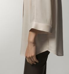 CAMISA CUELLO MAO - Camisas & Blusas - WOMEN - España - Massimo Dutti
