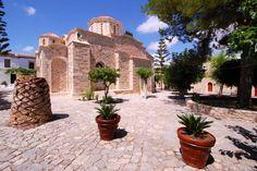 AGARATHOS MONASTERY (1 HOUR) http://cretelimotours.com/tours/knossos-palace-agarathos-monastery-ostrich-zoo-park-goat-milking-cheese-making-tour/