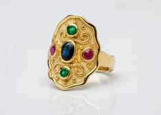 51 Best Byzantine Gold Rings / Etruscan Rings Jewelry images