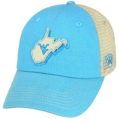 6f04451d Show off your WVU Mountaineer pride with our ladies trek snapback cap. With  the adjustable