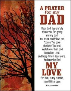 Prayer for My Dad Miss you, Boot I Love My Dad, Love The Lord, God Is Amazing, God Is Good, Prayer For My Son, Short Prayers, Simple Prayers, Dad Poems, Glass Plaques